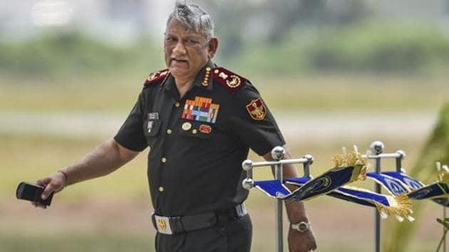 Rawat further said governance and security are under constant threat of being undermined by non-state actors and also naval competition among the states.(PTI file photo)