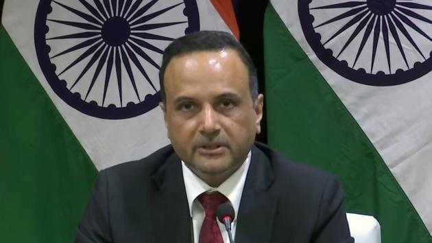 File photo: Ministry of External Affairs Spokesperson Anurag Srivastava.(ANI)