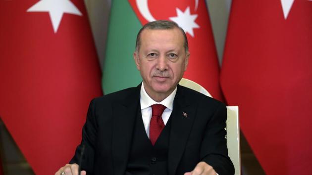 Turkey's President Recep Tayyip Erdogan.(AP)