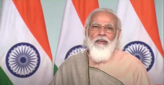 PM Modi also launched the FICCI Annual Expo 2020(Screengrab)