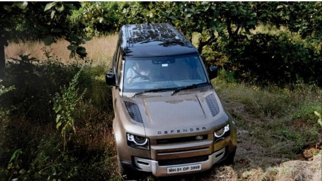 Credit for the Defender's good dynamics goes to the air suspension