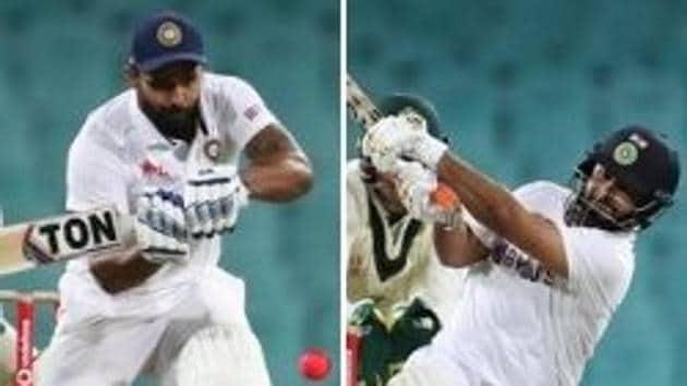 Photo of Indian batsman Hanuma Vihari (L) and Rishabh Pant (R)(BCCI/Twitter)
