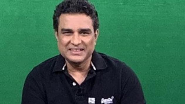 Photo of former Indian cricketer Sanjay Manjrekar(Twitter)