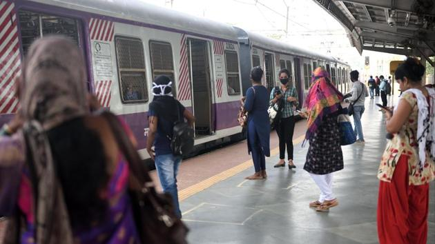 The skill development centres are proposed to be in prominent areas next to busy markets, railway stations or other public institutions so that women do not have to navigate lonely and unsafe passages while on their way to these centres(Satish Bate/HT Photo)