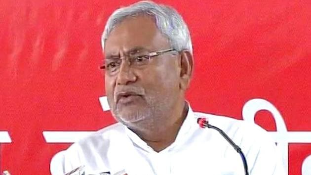 Bihar chief minister Nitish Kumar is allowed to have a total of 35 ministers in his cabinet.(ANI Photo)