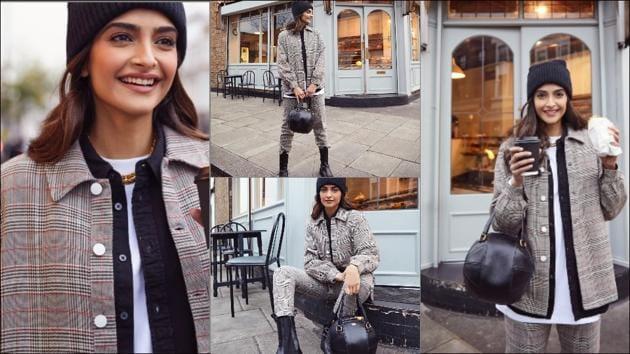 Sonam Kapoor Ahuja's smart layering in Bhaane turns winter look inspiration(Instagram/sonamkapoor)