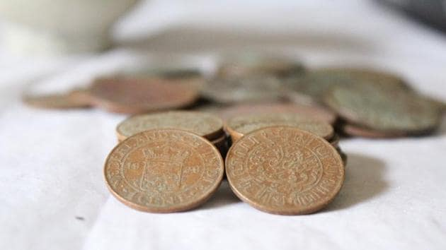 The coins appear to be 1500 to 2000 years old.(Unsplash)