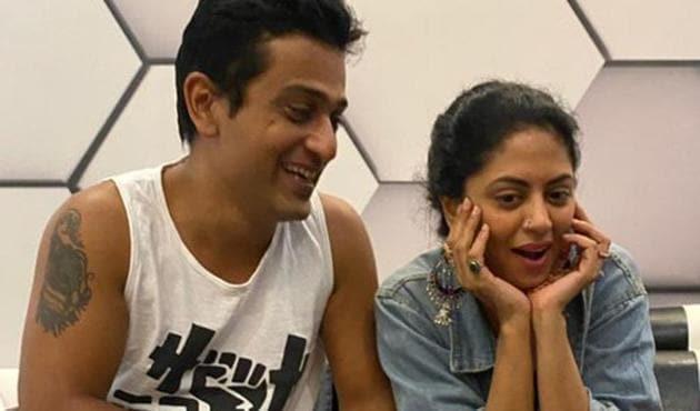 Kavita Kaushik shared a photo with husband Ronnit Biswas.