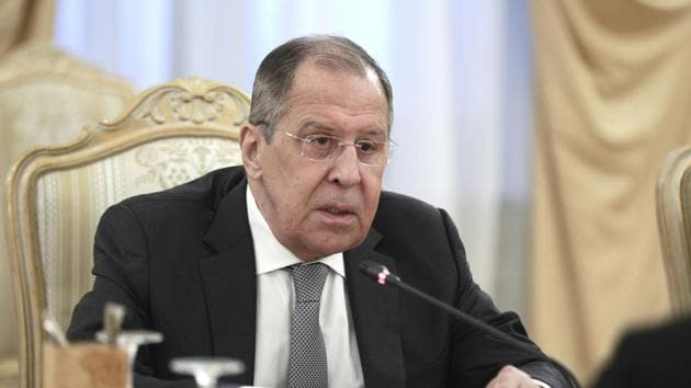 """The year is ending with Lavrov once again accusing the West of adopting an """"aggressive and devious"""" policy to engage India """"in anti-China games"""".(AP)"""
