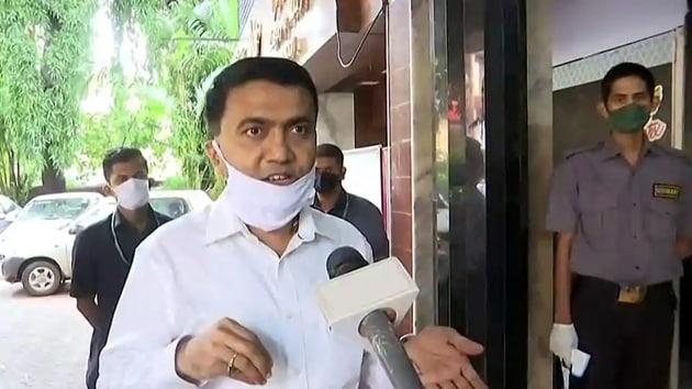 Goa chief minister Pramod Sawant.(ANI file)
