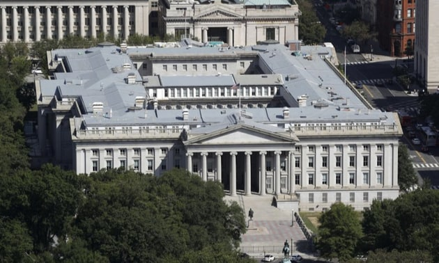 Hackers broke into the networks of the Treasury and Commerce Departments as part of a months long global cyberespionage campaign revealed Sunday.(AP)