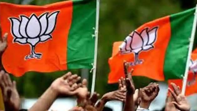 The voting for zilla panchayat took place on December 12 for 48 constituencies with a total of 50 seats. The BJP easily took away 49 seats.(HT file photo)