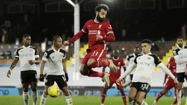 Mo Salah in action.(Reuters)