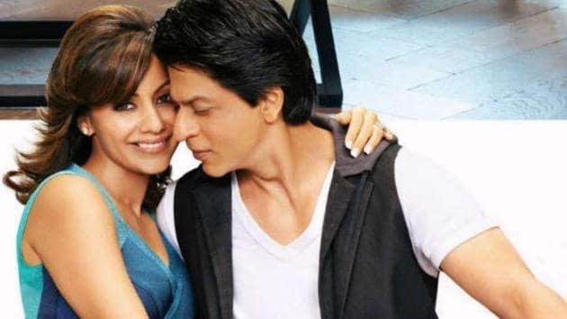 Shah Rukh Khan has celebrated wife Gauri Khan's award.