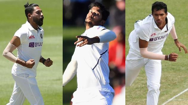 Mohammed Siraj, Umesh Yadav, Navdeep Saini - Who will be India's third seamer?(Getty Images)