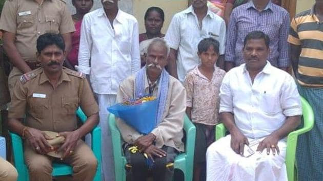 Man missing in Tamil Nadu found in Nagaland; Reunited with family after nearly a decade.(HT photo)