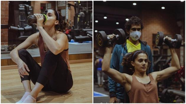 Taapsee talks about the importance of diet for a healthy life(Instagram/taapsee)