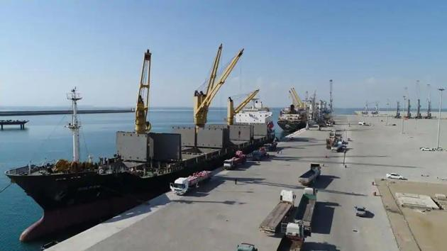 """The prospects of Chabahar took a hit after US President Donald Trump unilaterally withdrew from the nuclear deal with Iran in 2018 and re-imposed crippling sanctions as part of a """"maximum pressure"""" campaign. (Photo: chabaharport.pmo.ir/en)"""