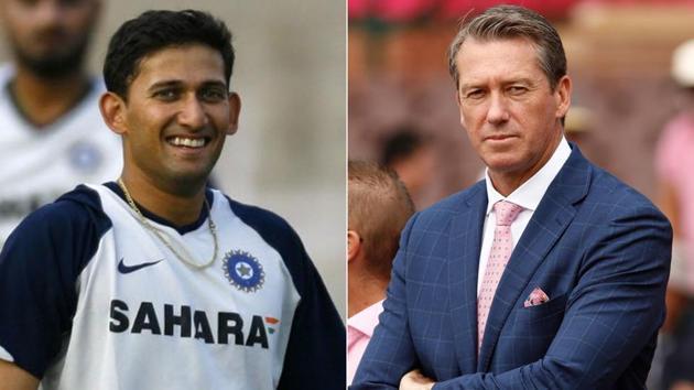 Ajit Agarkar and Glenn McGrath(Getty Images)