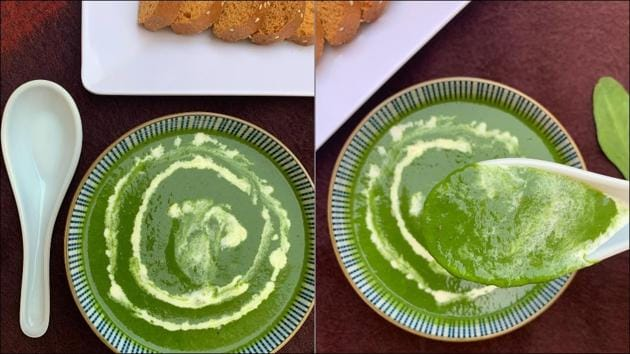 Here's the mouthwatering spinach soup recipe that Popeye would totally recommend(Instagram/whiskaway2020)
