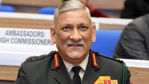 Chief of Defence Staff (CDS) General Bipin Rawat said that the three forces -- Army, Navy and Air Force -- will be integrated, while retaining the niche capabilities of each service.(Sonu Mehta/HT PHOTO)