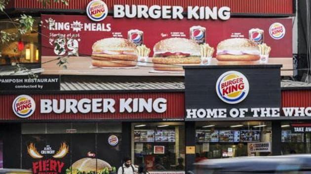 Burger King restaurant in Mumbai.(Bloomberg)