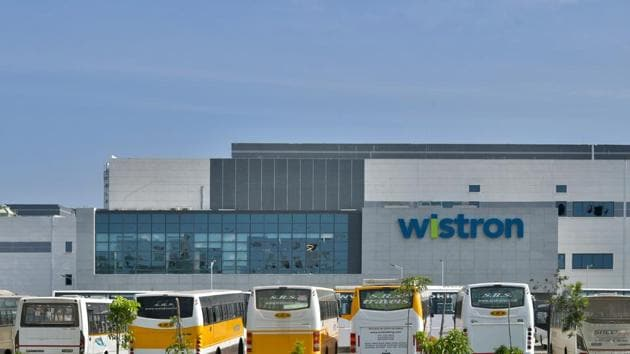 Wistron is one of the 16 entities to have received approval for incentive under the government's production linked incentive plan.(AFP photo)