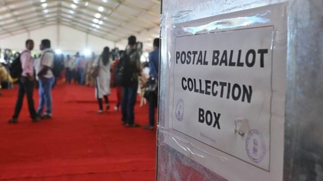 EC said it has been receiving several representations from Indian diaspora residing abroad to facilitate voting through postal ballots since such overseas electors are not in a position to be present in their polling area.(PTI)