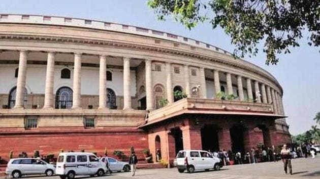 Hindustan Times was first to report on November 16 that the rising cases of covid-19 infections in Delhi have cast a shadow on the winter session. (HT Photo)