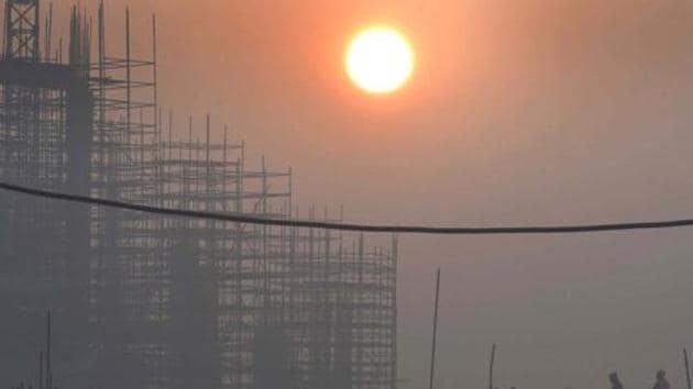 Delhi on a cold morning.(Arvind Yadav/HT file)