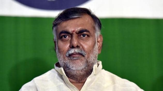 Minister of state in the ministry of culture and tourism, Prahlad Singh Patel.(Sonu Mehta/HT file)