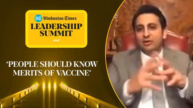 Serum Institute of India CEO Adar Poonawalla spoke at the 18th edition of the Hindustan Times Leadership Summit. He said that it will take at least 2 to 3 years before every Indian can be vaccinated. 'It will be 2024 by the time every person gets vaccinated that everybody, if willing to take a two dose vaccine, will get vaccinated,' Poonawalla said. He said that the government and media also need to communicate all the facts and merits about the vaccine to people. Watch the full video for all the details.