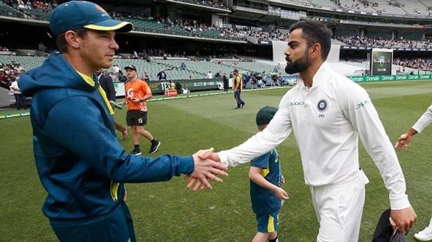 File image of Tim Paine and Virat Kohli.(File)