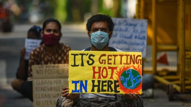 The world cannot solve the climate crisis without India's active participation. We will need to seek an equitable outcome based on climate justice that also provides for financing and space for our transition(Amal KS/HT PHOTO)