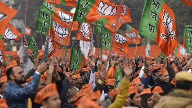The BJP seeks to expand its presence in the South by offering representation to communities that have been historically marginalised.(Burhaan Kinu/HT PHOTO)