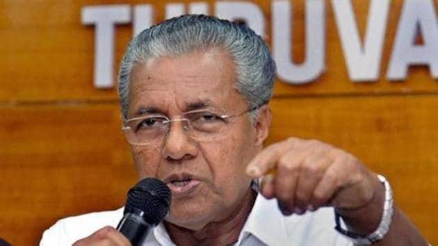 Kerala CM Pinarayi Vijayan.(PTI file photo)