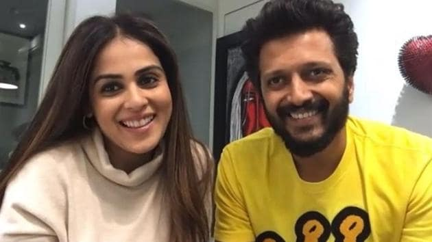 Riteish Deshmukh and Genelia D'Souza are collaborating again.