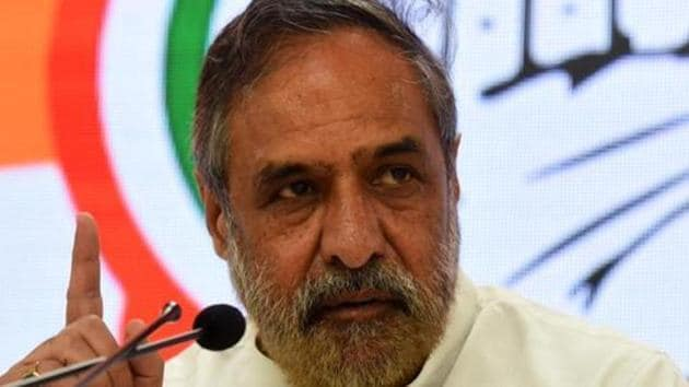The House panel is led by Congress leader Anand Sharma.(Mohd Zakir/HT archive)