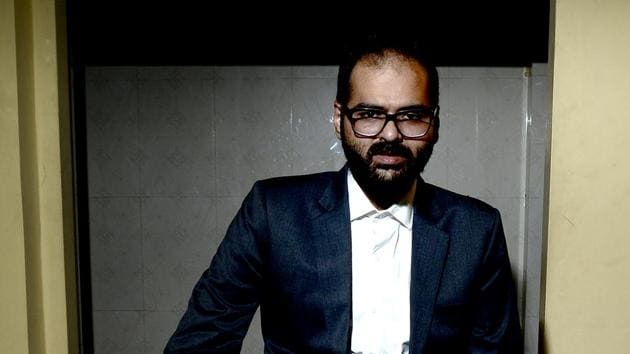 """Kamra had allegedly criticised the top court in his tweets which the Attorney General said were in """"bad taste"""". Venugopal had also said that it was time people understood that attacking it brazenly will attract punishment.(Abhijit Bhatlekar/Mint)"""