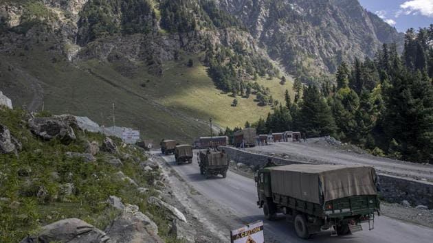 India and China recently blamed each other for the situation along the LAC, where tens of thousands of troops from both sides have dug in for the winter.(AP file photo)