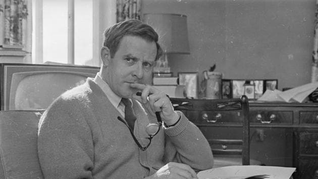 We should rejoice that David Cornwell, a mid-level intelligence officer, decided in 1961 to become a writer and transformed into John Le Carré(Getty Images)