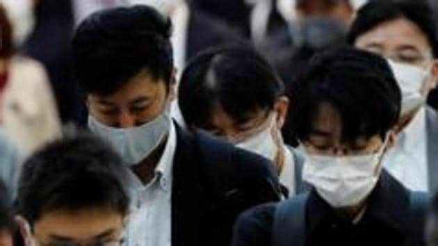 Japan had kept its alert for medical preparedness at the second-highest level at the time, indicating a need to boost hospital capacity but a notch below critical conditions.(REUTERS file photo)