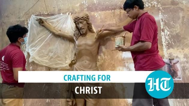 The Mangaluru-based Simon Art Co has orders for religious statuary pouring in from all over the world. It was founded in 1932 and is now run by the third generation of the Rasquinha family. Most orders are for crucifixes, but there are lots of statues made in the studio too. Each piece created is handmade and distinct. Some are shipped as far as Nairobi, Australia and North America.