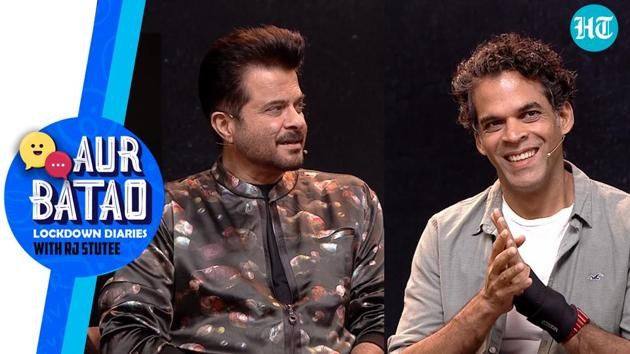 In the latest episode of 'Aur Batao', RJ Stutee speaks to Anil Kapoor, director Vikramaditya Motwane. The actor and director talk about how their latest movie AK vs AK. Anil Kapoor reveals his fitness secret and how he always dreamt of showing off his muscles like Salman Khan. Aur Batao is not your regular photoshopped chat show but makes hanging out with celebs a different (and fun) ballgame. Watch the full video for more.