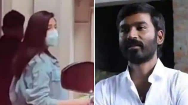 Anushka Sharma was spotted in Mumbai on Thursday. Dhanush will be seen in Russo Brother's Netflix film, The Gray Man.