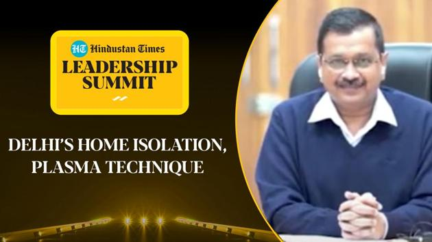 Speaking at Hindustan Times Leadership Summit 2020, Delhi Chief Minister Arvind Kejriwal explained how the government in Delhi handled the 3rd wave of coronavirus in the capital. Kejriwal spoke on the Delhi government's techniques of handling the rising cases in the national capital. The Delhi Chief Minister lauded the AAP government's effort of introducing plasma therapy in the capital amid Covid-19 cases. Watch the full video for more details.
