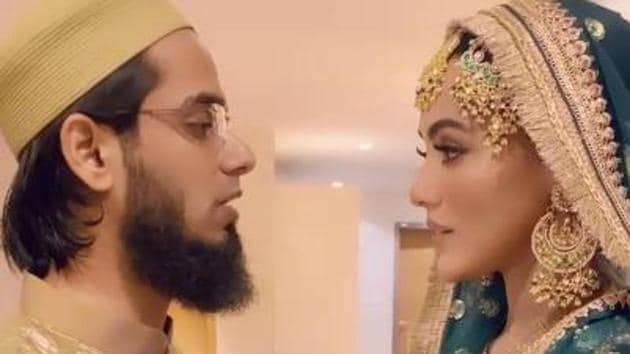 Sana Khan married Anas recently.