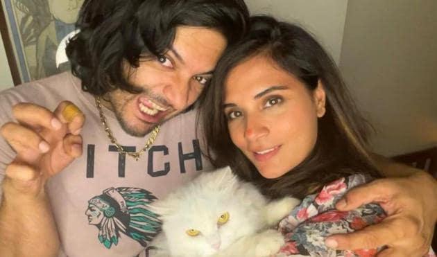 Ali Fazal wished Richa Chadha on her birthday in a sweet way.
