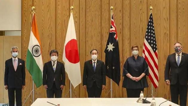 The virtual meeting of officials of India, Australia, Japan and the US was a follow-up to the last such official discussions in September, and the second ministerial meeting of the Quad held in Tokyo on October 6. (Image used for representation).(PTI PHOTO.)