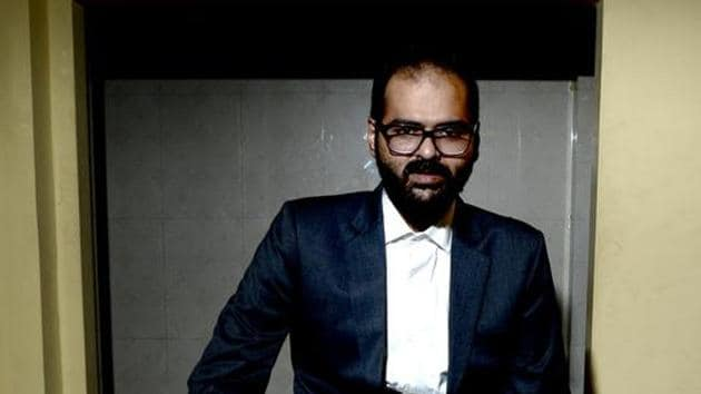 """Stand up comedian Kunal Kamra refused to apologise for his tweets and said they only stated his take on the Supreme Court of India making a """"partial"""" decision.(Mint)"""